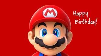 happy birthday mario mario wishes xbox a happy 15th birthday
