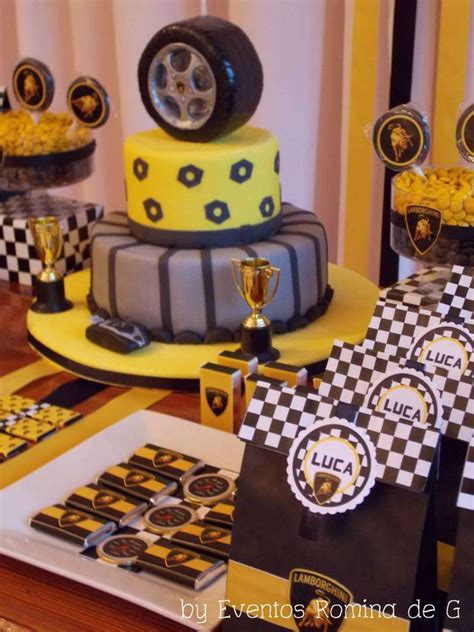 Lamborghini Party Cars  Ee  Birthday Ee   Party  Ee  Ideas Ee   Cars