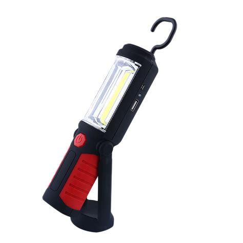cob led magnetic working stand hook light inspection
