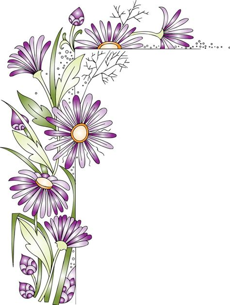 doodle flower border 1236 best frames writing paper borders images on