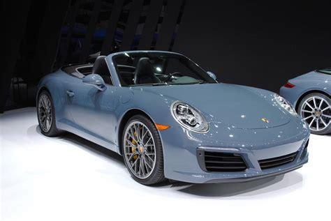 porche 911 carrera s detroit 2016 porsche 911 carrera s cabriolet gtspirit