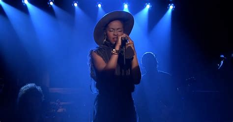 lauryn hill you know how i feel watch lauryn hill s show stopping feeling good on