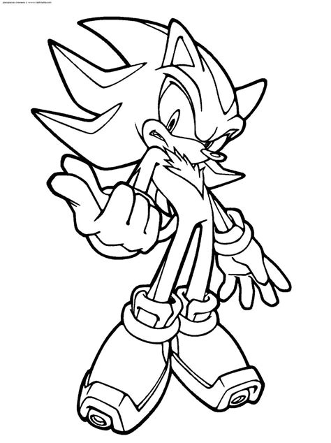 scourge the hedgehog coloring pages images