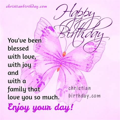 happy birthday to a blessed person free christian card christian birthday free cards