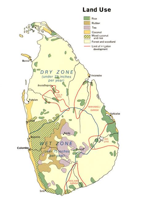 Letter For Land Use Sri Lanka Maps