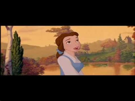 beauty and the beast town beauty the beast little town belle s song youtube
