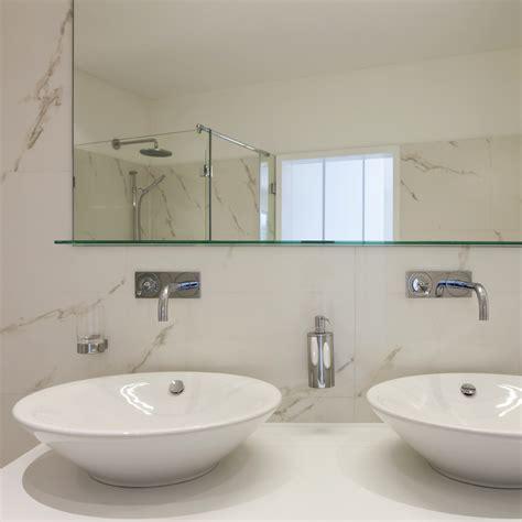 Bathroom Mirror Fixings 11 Uv Bonded Shelf Frameless Showers Or Mirror Ssi