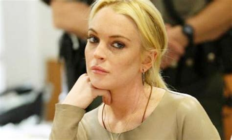 Lindsays In Rehab by Lindsay Lohan To Go Into Hiding After Rehab Indian Express