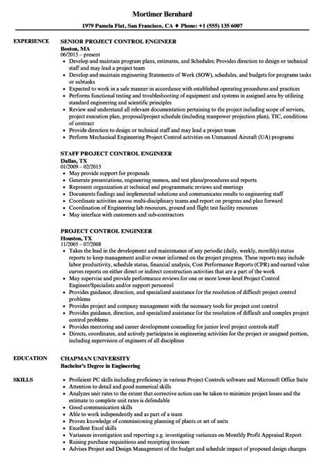 project engineer resume sles velvet