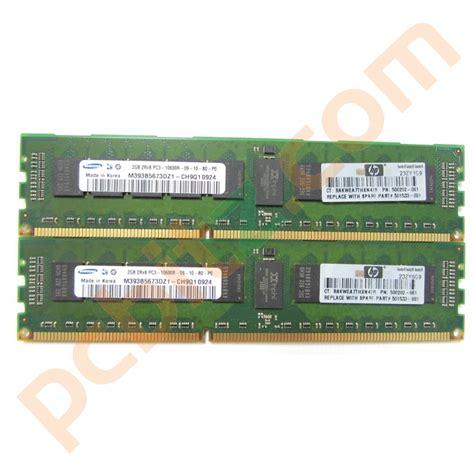 Memory Server 4gb 4gb 2 x 2gb samsung m393b5673dz1 ch9z1 pc3 10600r ecc server memory ebay