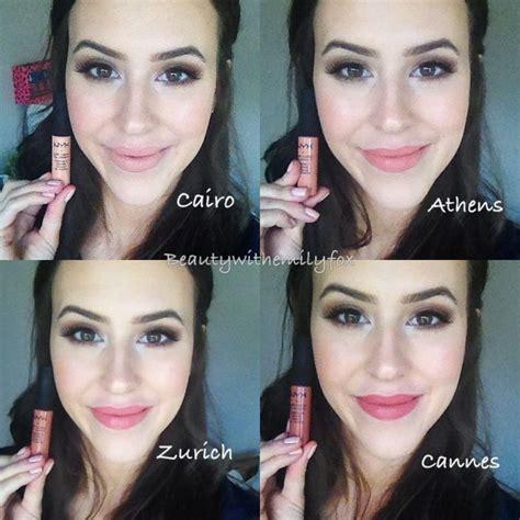 Lipstik Nyx Zurich nyx soft matte lip in cairo athens zurich and