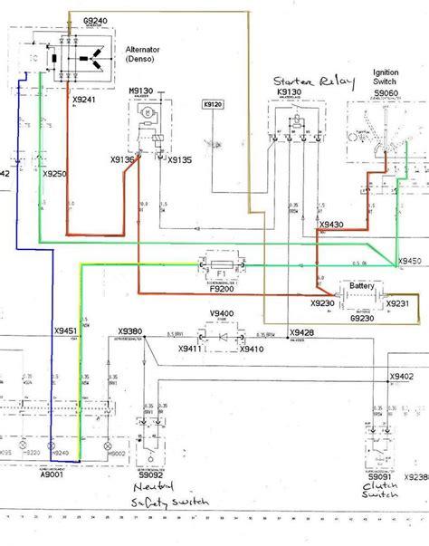 denso 12v alternator wiring diagram efcaviation