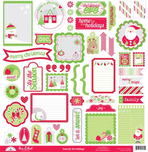 doodlebug scrapbooking doodlebug design home for the holidays 12