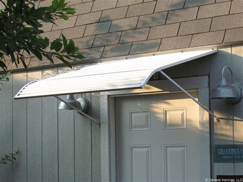 an awning aluminum door used aluminum door awnings