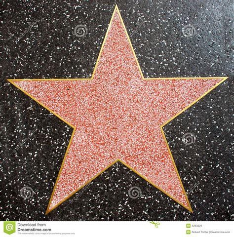 printable hollywood star template blank hollywood star clipart