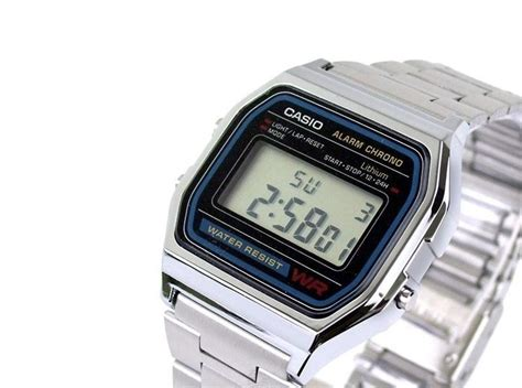 orologio casio moda orologio casio vintage retro a158wa 1df garanzia ufficiale