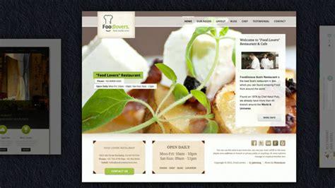 Homepages Design Vorlagen restaurant homepage vorlagen restaurant werbung und