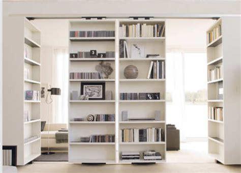 librerie scorrevoli divisorie pareti attrezzate