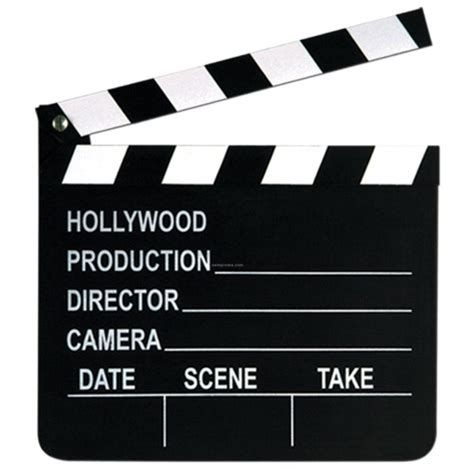 Movie Clapboard Template Clipart Best Clapboard Template