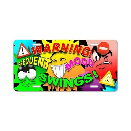 frequent mood swings warning frequent mood swings cartoon faces aluminu by