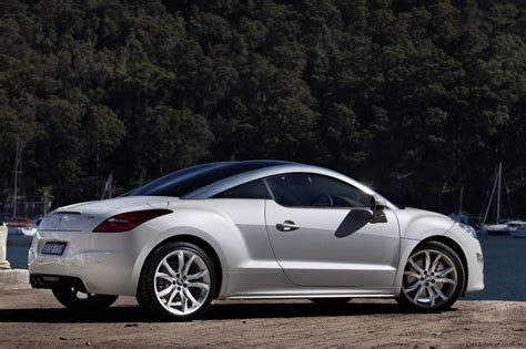peugeot au 2010 peugeot rcz sports coupe released in australia