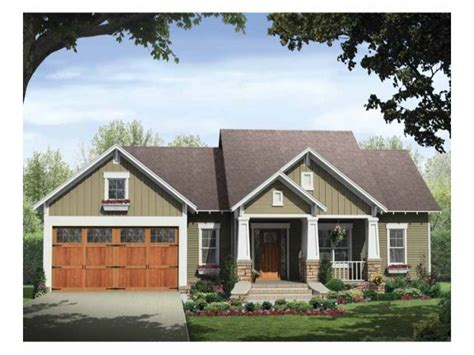 Craftsman House Plans With Porch by Single Story Craftsman House Plans Craftsman Style House