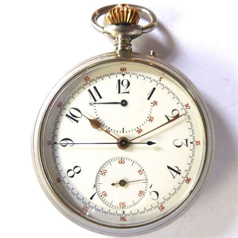 bevret pocket chronograph from early 1900 catawiki