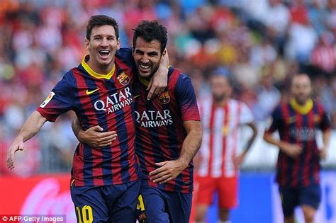 messi wag lionel messi and chelsea cesc fabregas are mates