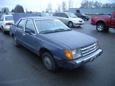 blue book value used cars 1989 ford tempo head up display 1fabp23r1ek310587 bidding ended on 1984 blue ford tempo glx autobidmaster