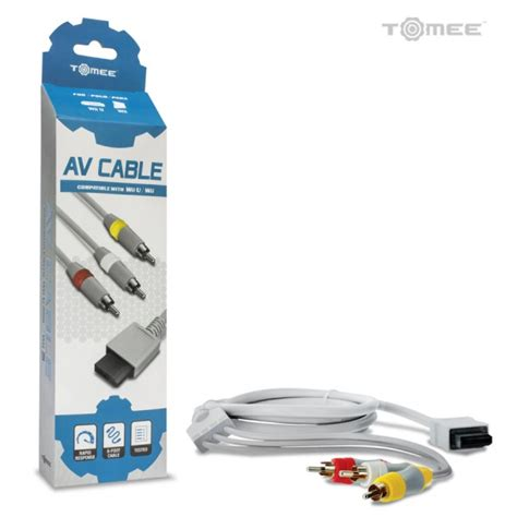 Wii Av Cable By Onejersey wii av cable cables adaptors nintendo wii