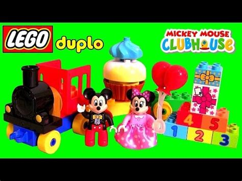 Lego Duplo Mickey Mouse Birtday Parade lego duplo birthday parade 10597 mickey mouse clubhouse trenzinho festa de anivers 225 da