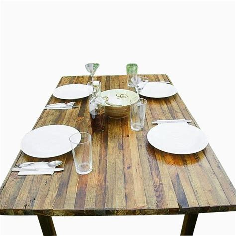 buy a made reclaimed wood dining table made to order