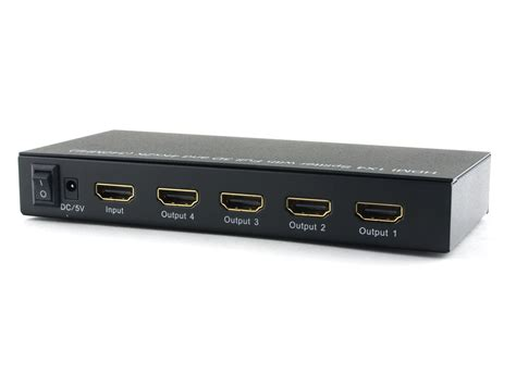 Hdmi Splitter 1 4 E33 1x4 hdmi splitter hd at cables n more