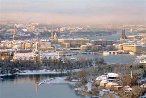 5 raisons de visiter stockholm en hiver visit sweden