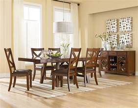 Casual Dining Room Furniture Standard Furniture Omaha Brown Casual Dining Room Dunk Bright Furniture Casual
