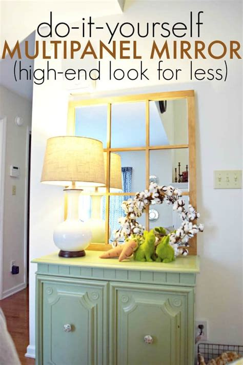 diy multipanel mirror high end look for less