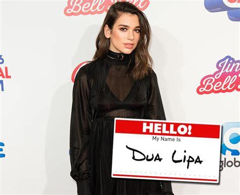 dua lipa real name what is dua lipa s real name pop stars real names 48