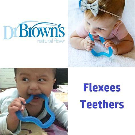 Dr Brown Flexees Teether Gigitan Bayi Berdiskon dr brown s flexees mainan gigitan bayi 3 bulan bahan silicone aman