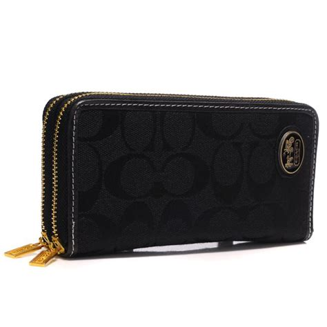 Ready Coach Swager 33 Black coach logo large black wallets ayb coach160310 586 33