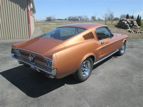1967 Ford Mustang Fastback Burnt Umber For Sale Craigslist Used Cars For Sale 1967 Mustang 390 S Code Gt Fastback