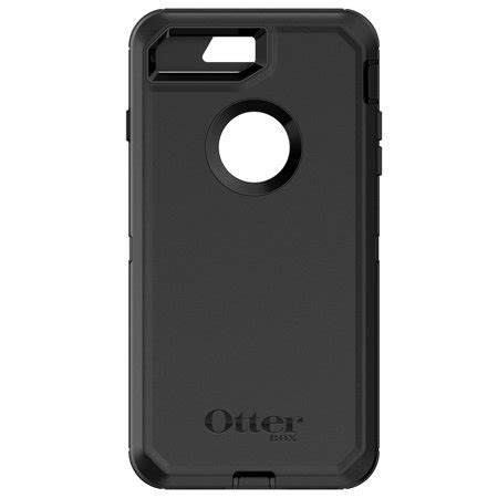 otterbox defender series for iphone 8 plus iphone 7 plus black walmart