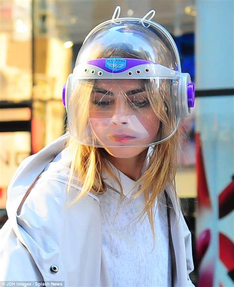 Vic Set 2in1 Jumper Sporty cara delevingne teams helmet with white sheer dress and trainers on dkny set in new