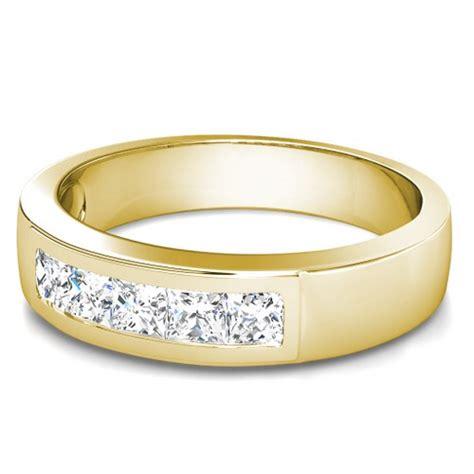 mens wedding rings yellow gold with diamonds wedding