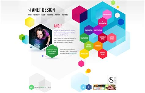 design art web 36 polygon style web designs a magic of geometry