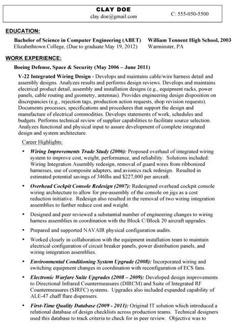 resume for veterans exle exles of resumes