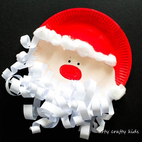 santa claus paper craft 25 and simple crafts for everyone