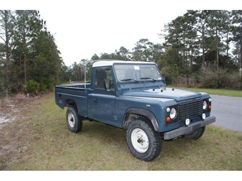 land rover for sale florida 1989 land rover defender classic car for sale by owner