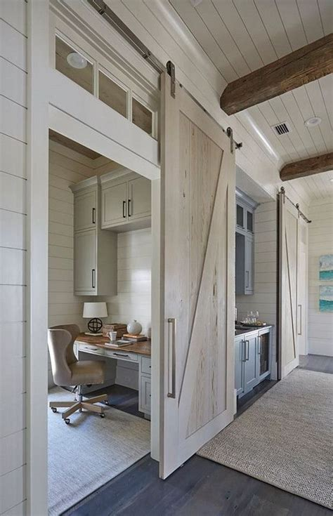 stylish barn doors ideas   interiors shelterness