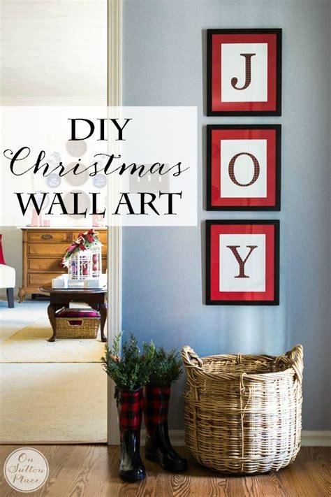 diy free printable wall art 10 christmas decor ideas on sutton place