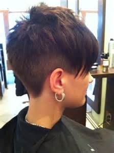 pixie haircut with a clipper asymmetrical pixie on the side and awesome on pinterest
